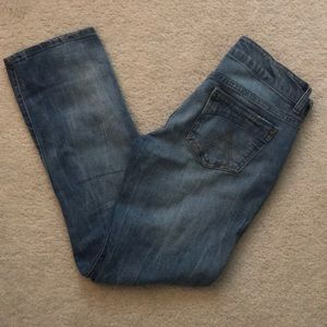dELia*s Morgan Medium Wash Straight Leg Jeans